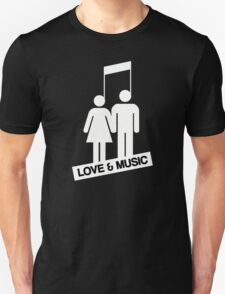 Love and music T-Shirt