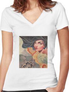 Sophia Women's Fitted V-Neck T-Shirt