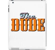 The DUDE colour print - The Big Lewbowski iPad Case/Skin