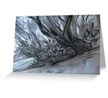 as the river flows.... Greeting Card