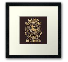 december 11 Framed Print