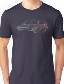 Honda Civic EF Hatchback Sketch Unisex T-Shirt