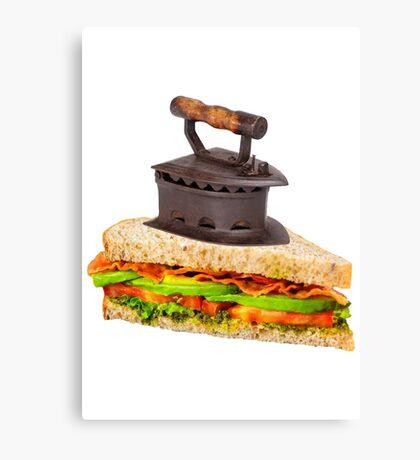 Ironic Sandwich Canvas Print