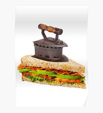 Ironic Sandwich Poster