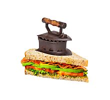 Ironic Sandwich Photographic Print