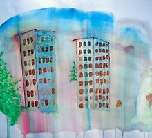 Breeze and Spring in the City by Christine Gherardi