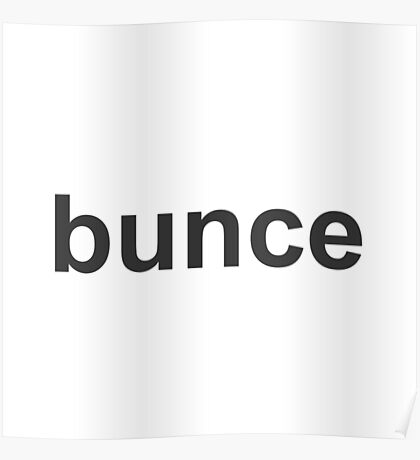 Bunce - The Office - David Brent Poster