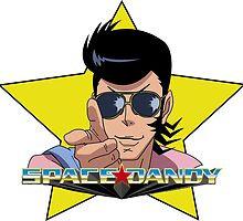 """BANG"" Space Dandy by outermostdig"