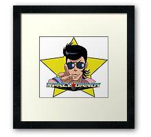 """BANG"" Space Dandy Framed Print"