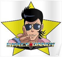 """BANG"" Space Dandy Poster"