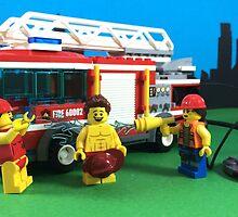 Waterfight by LegoLegion