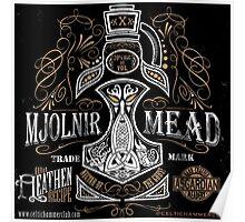Mjölnir Mead Poster