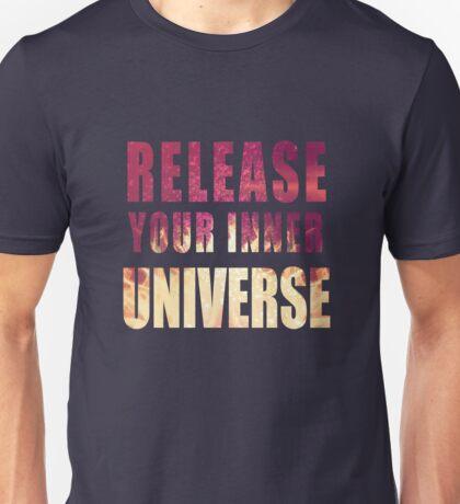 Picture-lettered Explosion slogan Unisex T-Shirt