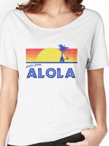 Pokemon Sun and Moon - Alola from Alola Women's Relaxed Fit T-Shirt