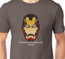 Iron Man ... Jarvis? Pixel Art Unisex T-Shirt