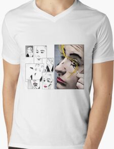 Makeup & Art Mens V-Neck T-Shirt