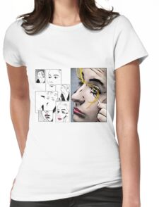 Makeup & Art Womens Fitted T-Shirt