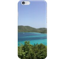 Overlooking Cruz Bay, St John, Virgin Island iPhone Case/Skin