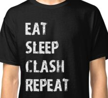 Eat Sleep Clash Repeat T-Shirt Gift For Video Game Cute Funny Gift Player App Gamer T Shirt Tee  Classic T-Shirt