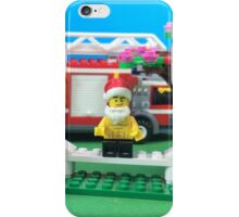Happy Fireman Xmas iPhone Case/Skin