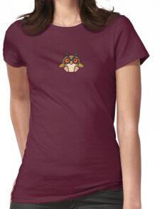 Pokedoll Art Hoothoot Womens Fitted T-Shirt