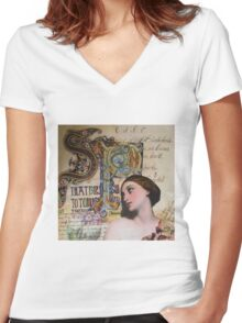 Illumination  Women's Fitted V-Neck T-Shirt