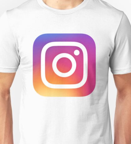 Instagram Logo (New) Unisex T-Shirt