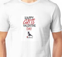 Happy Anti-Valentine Day Unisex T-Shirt