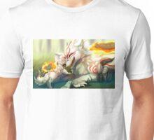 Okami - Amaterasu and Chibiterasu Unisex T-Shirt