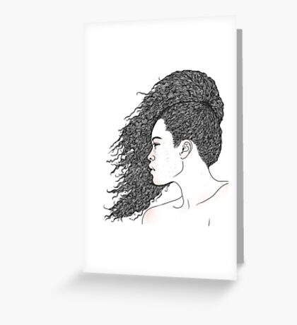 Freckled Greeting Card