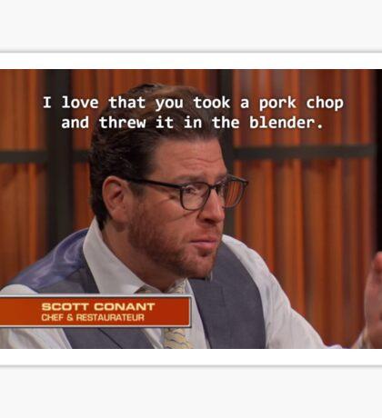 Pork Chop Sticker