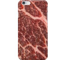 Red Meat - Beef iPhone Case/Skin