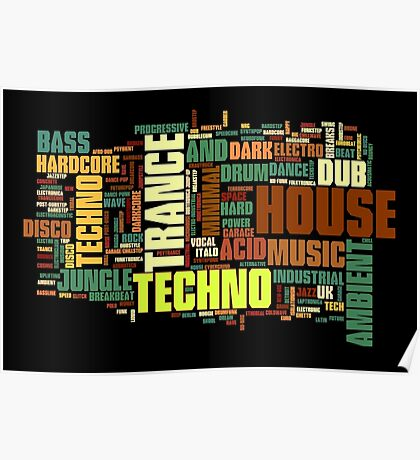 Electronic Music Poster