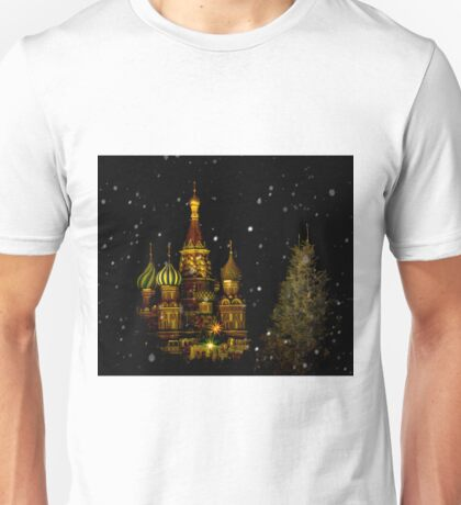 Moscow Night Unisex T-Shirt