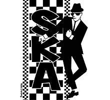Ska Dude Photographic Print