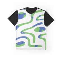 Double Reality (Cool Blue) Graphic T-Shirt