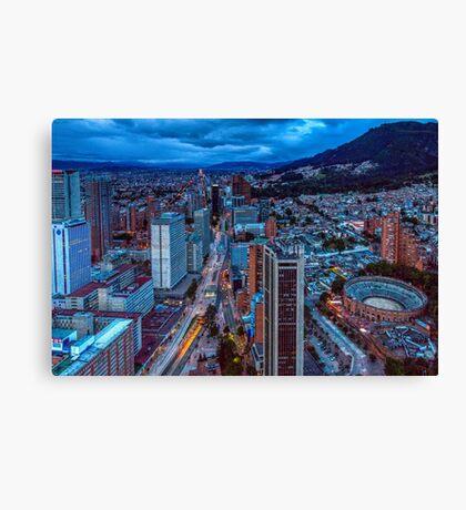 Urban Bogota Canvas Print