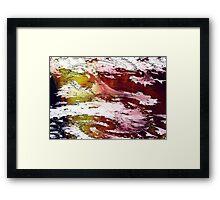 severe weather but tornado Framed Print