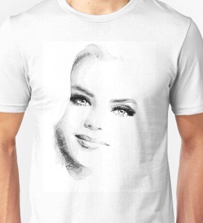 Blue Eyes Blond  Unisex T-Shirt