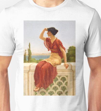 The Signal - John William Godward - 1899 Unisex T-Shirt
