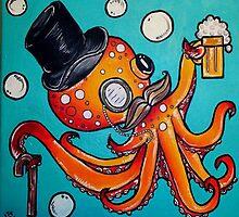 Classy Octopus by brynneav