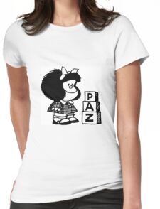 Mafalda Womens Fitted T-Shirt