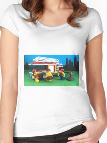 Waterfight Women's Fitted Scoop T-Shirt