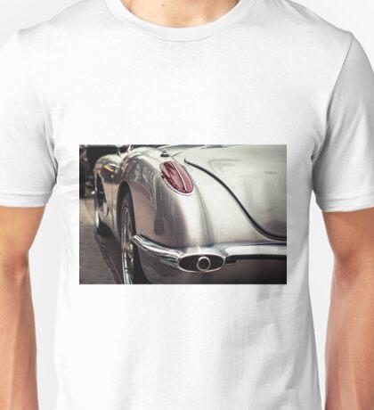 Silver Corvette Unisex T-Shirt