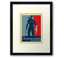 FemShep - I'm Commander Shepard Framed Print