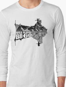 USS Alabama (BB-60) Long Sleeve T-Shirt