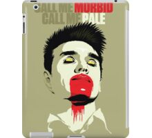 Call Me Morbid iPad Case/Skin