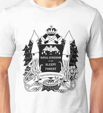 The Royal Kingdom of the Sleepy Forest Unisex T-Shirt