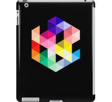 Geometric Color Cube iPad Case/Skin