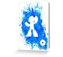 Mega Man Spirit Greeting Card
